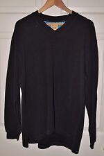 MENS JoS A Bank Sweater Black Large