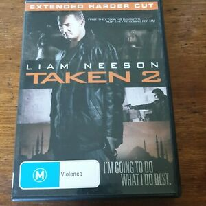 Taken 2 DVD R4 Like New! FREE POST