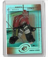 Roberto Luongo Team Canada 1999 SPX hockey Rookie card refractor /1999