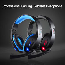 USB2.0 Wired Gaming Mic Chat Headset Headphone Stereo 7.1 Surround For PC Laptop