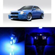 7 x Blue LED Interior Lights For 2002 - 2003 Subaru Impreza WRX STI + Pry TOOL