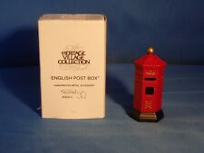Dept. 56 Heritage Village Collection- English Post Box- #5805-0
