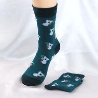 Cotton Socks Sweet Penguin Koala Shape Female Warm Autumn Winter Casual Socks