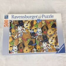 Quirky Dogs 500 Piece Puzzle Ravensburger Jigsaw Cartoon New Sealed