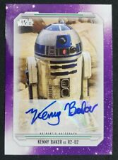 2019 TOPPS STAR WARS SKYWALKER SAGA STAR KENNY BAKER R2-D2 AUTOGRAPH CARD #5/5