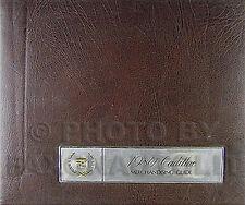 1980 Cadillac Merchandising Guide Data Book Upholstery Dealer Showroom Album