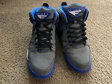 Men`s Nike Air Flight Falcon Blue, Grey, Black & White size 12 (pre-owned)