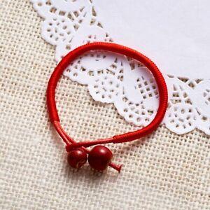 Lucky Red String Ceramic Beads Bracelet Bangle Adjustable Unisex Charm Jewelry