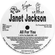 Janet Jackson ‎– All For You ( VINYL 2001 ) PROMO