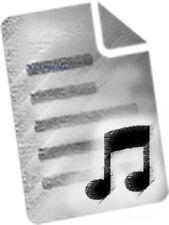 Grabadora Y Guitarra, partituras; Rosenberg, Steve, costura de silla de montar