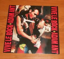 Adam Ant Vive Le Rock Poster 2-Sided Flat Square 1985 Promo 12x12 RARE