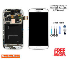 NEW Samsung Galaxy S4 (i9505) LCD Touch Digitiser Assembly with Frame - WHITE