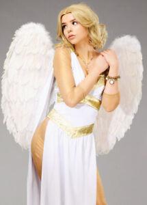 White Large Feather Heavenly Angel Fancy Dress Fairytale Cosplay Wings