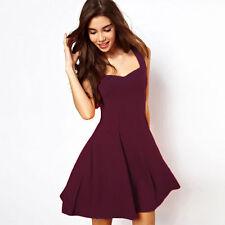 US Summer Womens Fashion Mini Dress Beach Sundress Sexy Evening Party Club Dress