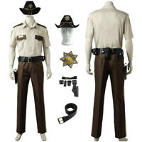 The Walking Dead Rick Grimes Adult Costume Size Standard Rubies 880663