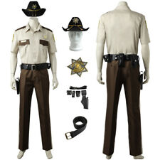 The Walking Dead Cosplay Sheriff Rick Grimes Costume Custom Made