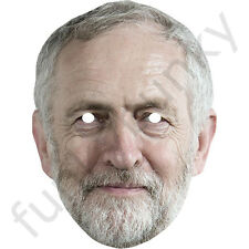 Jeremy Corbyn Labour Politician Card Mask - All Our Masks Are Pre-Cut!