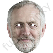 Jeremy Corbyn Labour Politician Card Mask - All Our Masks Are Pre-Cut!***