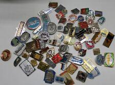lot of russian soviet métal pin badges