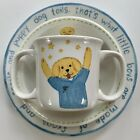 Kelly+B+Rightsell+Little+Boy+%E2%80%9CPuppy+Dog%E2%80%9D+Ceramic+Dish+Set%7EPlate+Bowl+Cup%7EEUC