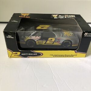 REVELL NASCAR RUSTY WALLACE 1996 MILLER 25 YEARS RACING FORD 1:24 DIECAST NEW