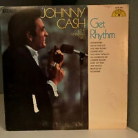 "JOHNNY CASH & THE TENNESSEE TWO - Get Rhythm - 12"" Vinyl Record LP - VG+"