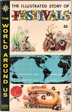 The World Around Us Comic Book #17 The Illustrated Story of Festivals 1960 FINE+