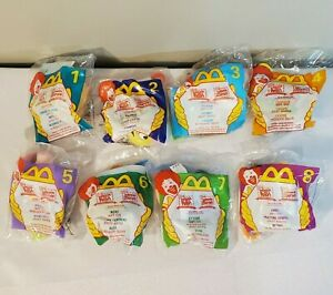 McDonald's Happy Meal Winnie the Pooh Toys 1999 COMPLETE Set of 8 - NEW