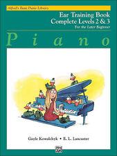 Alfred's piano básico de entrenamiento del oído LV 2/3; kowalchyk y Lancaster. - 6482