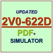 VMware Professional 6.5 Data Center VCP6.5-DCV Delta Exam 2V0-622D Test QA+SIM