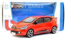 RENAULT CLIO Red 1:43 Car NEW Model Diecast Models Cars Die Cast Metal