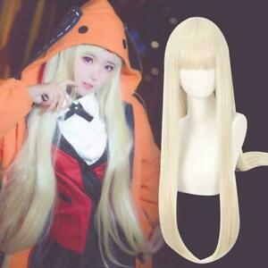 Kakegurui Compulsive Gambler Cosplay Wigs Runa Yomozuki Momobami Ririka Wig W6L3