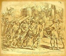 La prise de Jéricho Josue C VI La Bible Nicolas Chaperon 1649 a Raphaël religion