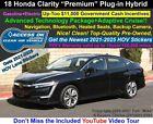 2018 Honda Clarity Plug-In Hybrid Premium with Adaptive Cruise 2018 Honda Clarity Plug-In Hybrid Premium with Adaptive Cruise BlackExtra-Clean!