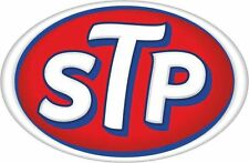 STP OIL Classic Large STICKER Car Racing Motorcycle Rally Bike Race Sports.