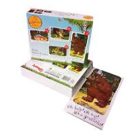 The Gruffalo Julia Donaldson Axel Scheffler 4 in 1 Jigsaw Puzzles Box Set NEW