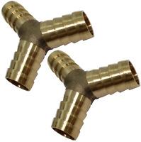 2x raccords triples en Y d'air comprimé compresseur ф12mm coupleur dédoubleur