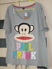 Paul Frank Grey Short Sleeve Lounge Top Size 18 - 20.  BNWT
