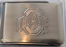 NCAA Ohio State Buckeyes Buckle with 3 Web Belts