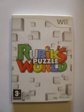 jeu nintendo wii rubik's puzzle world