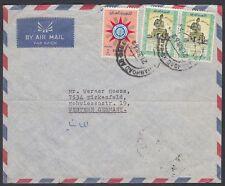 1962 Iraq iraq cover to Germany, giorno dell'Esercito Army Day [ca846]