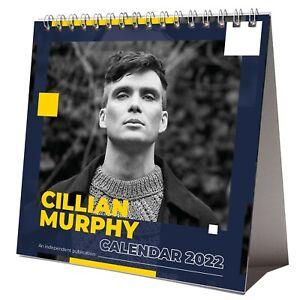 Cillian Murphy 2022 Desktop Calendar NEW Desk 12 Months
