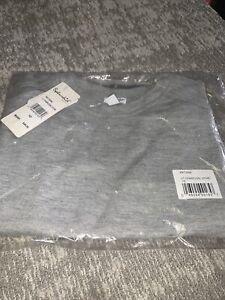 Girls Splendid Size 10 Metalic  Trim Grey Sweater New
