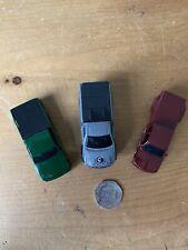 3 Hot Wheels Pickup Trucks, 1997 Ford F-150, Steel Flame & Customs