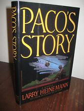 1st/1st Printing PACO'S STORY Larry Heinemann NATIONAL BOOK AWARD Modern Fiction