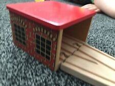 Thomas And Friends Wooden Railway Brio Compatible 2way Engine Sheds