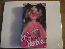 1993 SPECIAL EDITION SUPERSTAR BARBIE WITH WINNING STATUE AND GOWN