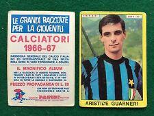 CALCIATORI 1966/67 66/1967 INTER GUARNERI Figurina Sticker Panini (NEW)