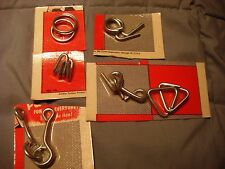 Vintage Skil - Craft Corporation Magic Puzzles Metal Dime Store