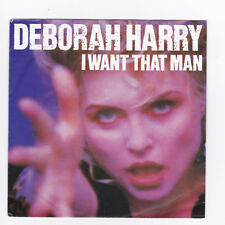 SP 45 TOURS DEBORAH HARRY I WANT THAT MAN CHRYSALIS 112 576 en 1989